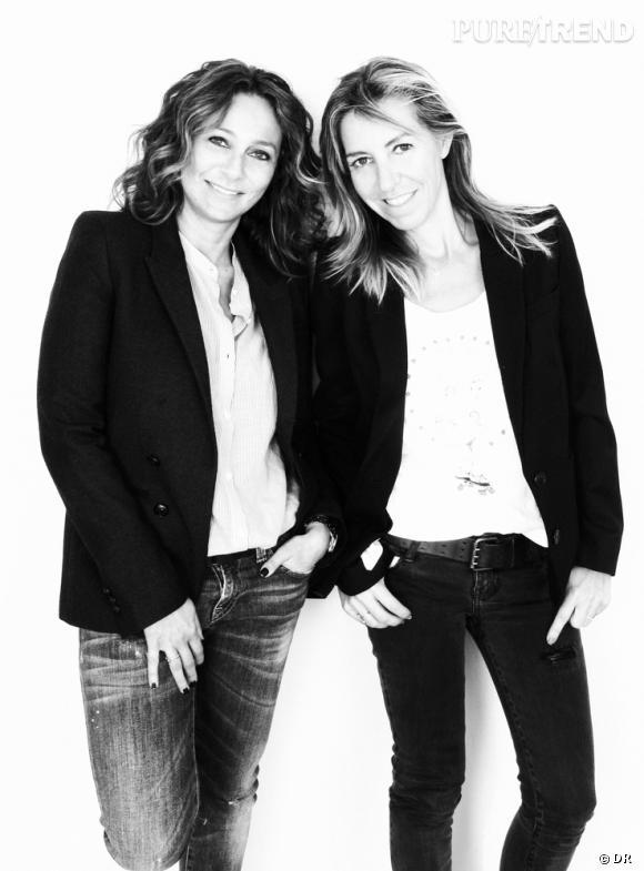 Barbara Boccara et Sharon Krief, créatrices derrière Ba&sh.