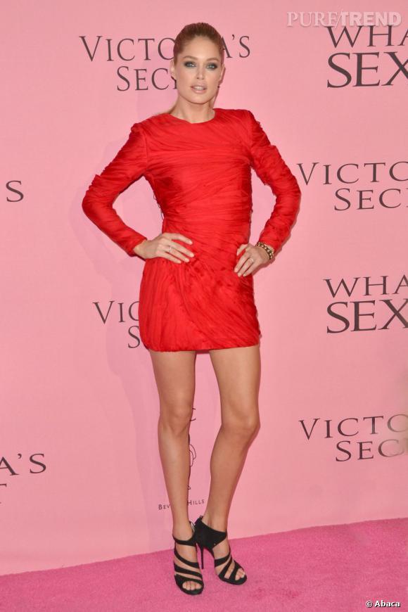 """Doutzen Kroes à la soirée """"What is Sexy ?"""" organisée par Victoria's Secret à Los Angeles."""