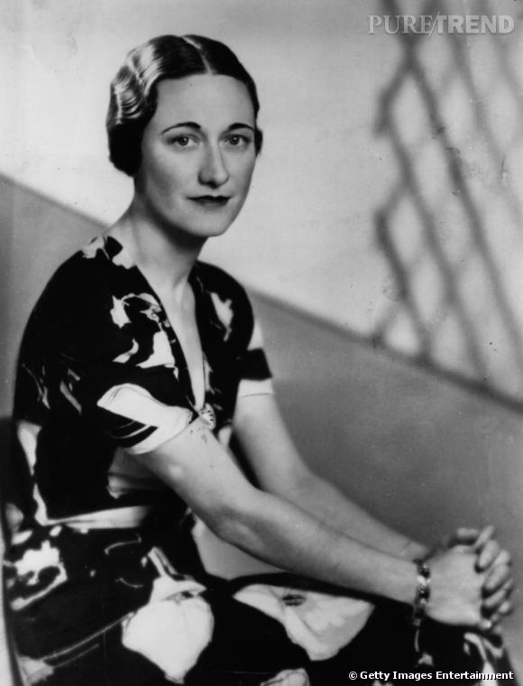 Wallis Simpson en 1936.