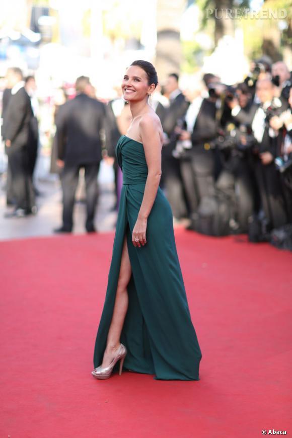 Virginie Ledoyen au Festival de Cannes 2012.