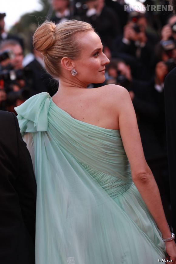 Diane Kruger, le chignon sophistiqué.