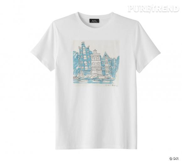 T-shirt A.P.C. Connan Mockasin.