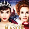 Lily Collins  et Julia Roberts choisisse plutôt un monde enchanteur et comique. L'affiche lumineuse offre deux sourires...