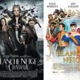 """""""Blanche Neige et le Chasseur"""", sombre et dramatique VS """"Blanche-Neige"""", drôle et absurde : qui gagnera ce match ?"""