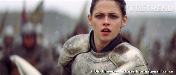 Kristen Stewart nous fait plutôt penser à Jeanne d'Arc. Mais bon...