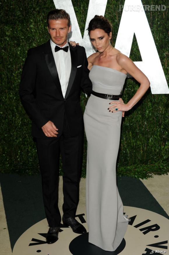 Heureusement Victoria Beckham peut aussi faire preuve de retenue. Le couple est chic et classe.