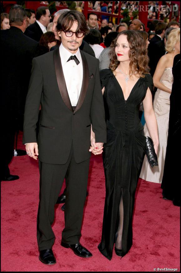 Johnny Depp et Vanessa Paradis en parfait couple hollywoodien !