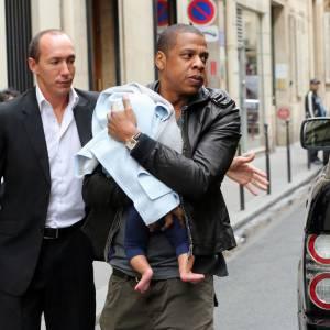 Jay-Z complètement gaga de sa petite Blue Ivy.