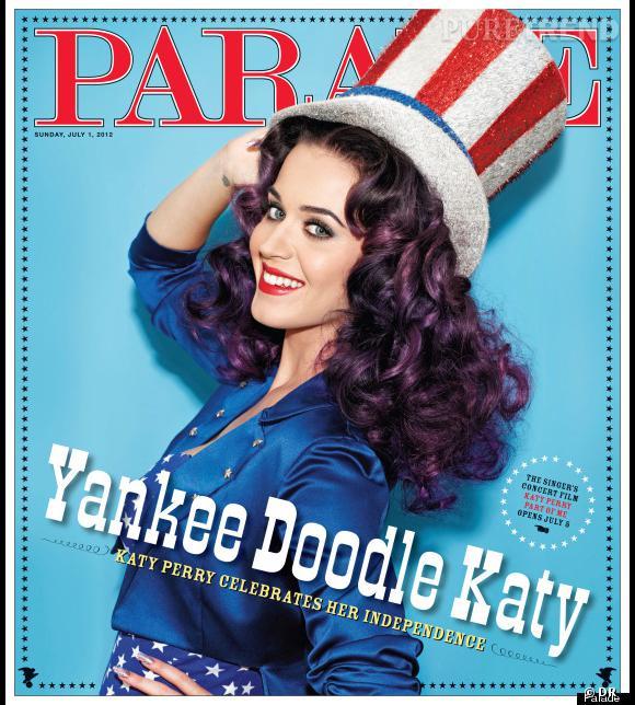 Katy Perry pour Parade.