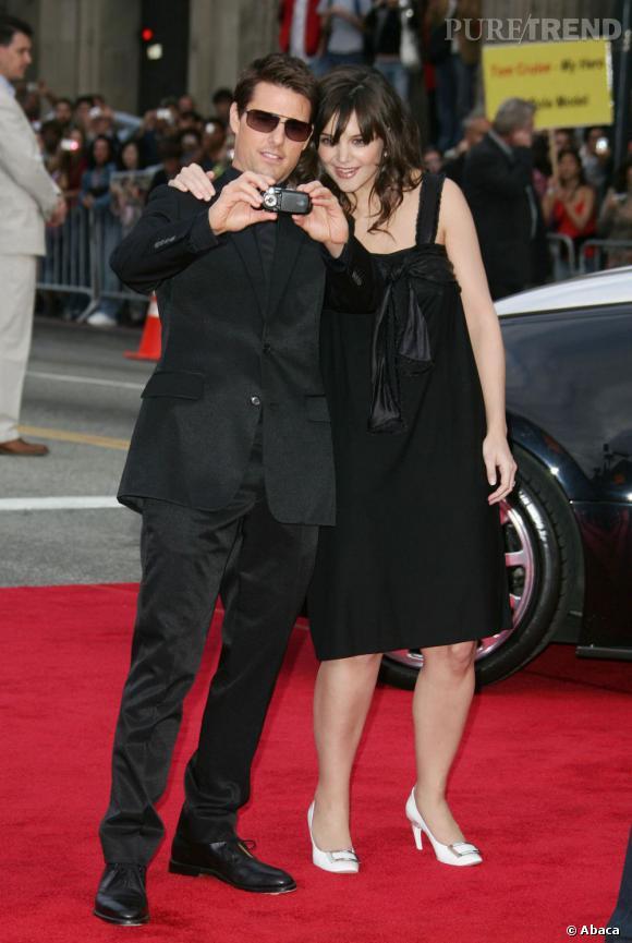 Katie Holmes et Tom Cruise ne se quittent pas d'une semelle sur red carpet.