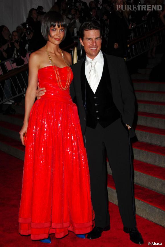 Katie Holmes et Tom Cruise c'était aussi une sérieuse différence de taille...