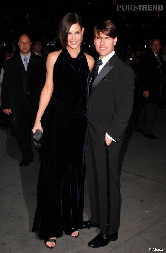 Katie Holmes et Tom Cruise à l'époque du bonheur.