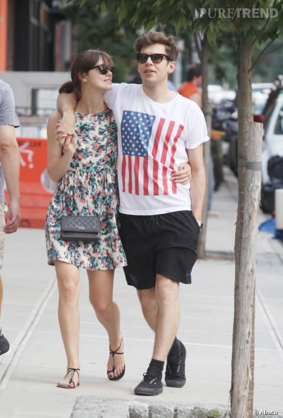 Keira Knightley et son fiancé à New York.