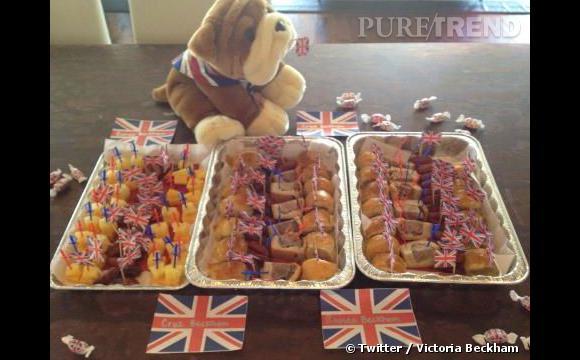 La créatrice cuisine pour fêter l'Angleterre. Qui l'eût cru.