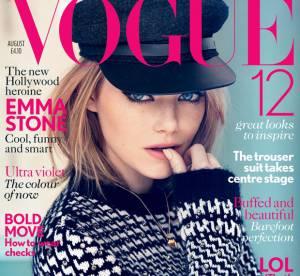 Emma Stone, retour au naturel pour le Vogue UK
