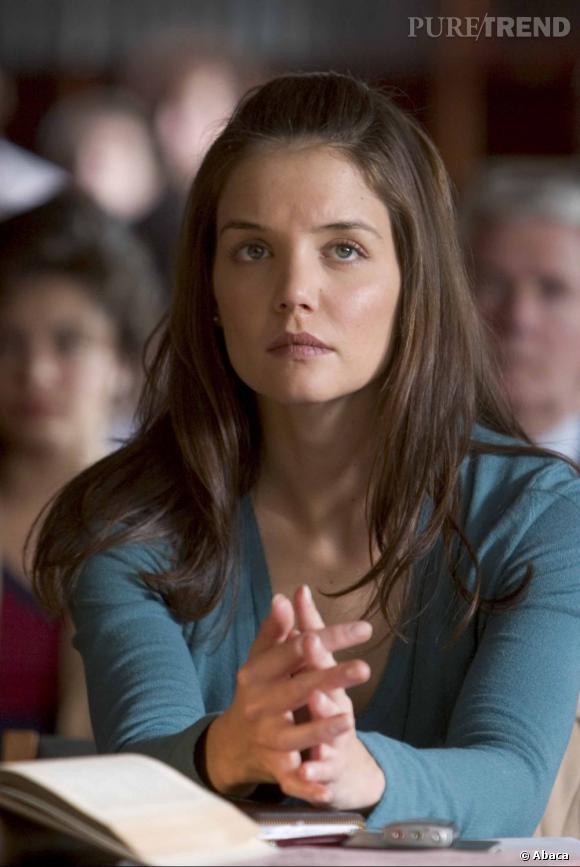 Par amour pour Tom Cruise, Katie Holmes s'est initiée à la scientologie. Qu'elle a quitté en même temps que son mari.