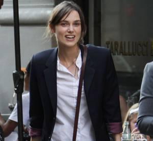 Keira Knightley, joli tom boy... A shopper !