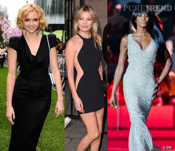 Kate Moss, Naomi Campbell, Lily Cole mais aussi Rosie Huntington-Whiteley défileront à la cérémonie de clôture des Jeux Olympiques de Londres