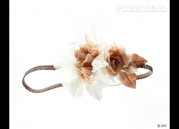 Le must have de Jennifer     Headband Johanna Braitbart, 150 € soldé sur  www.johannabraitbart.com