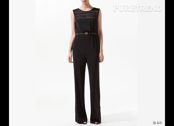 Le must have de Marie bis     Combi-pantalon dentelle Zara, 69,95 € sur  www.zara.com
