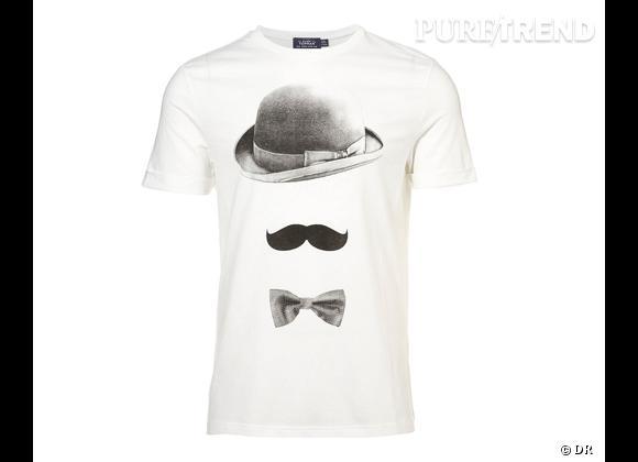 Le must have de Marie     T-shirt Topman, 24 € sur  fr.topman.com