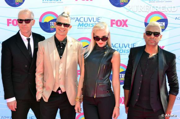 Gwen Stefani renoue avec son style rock'n'glamour pour le grand retour du groupe No Doubt.