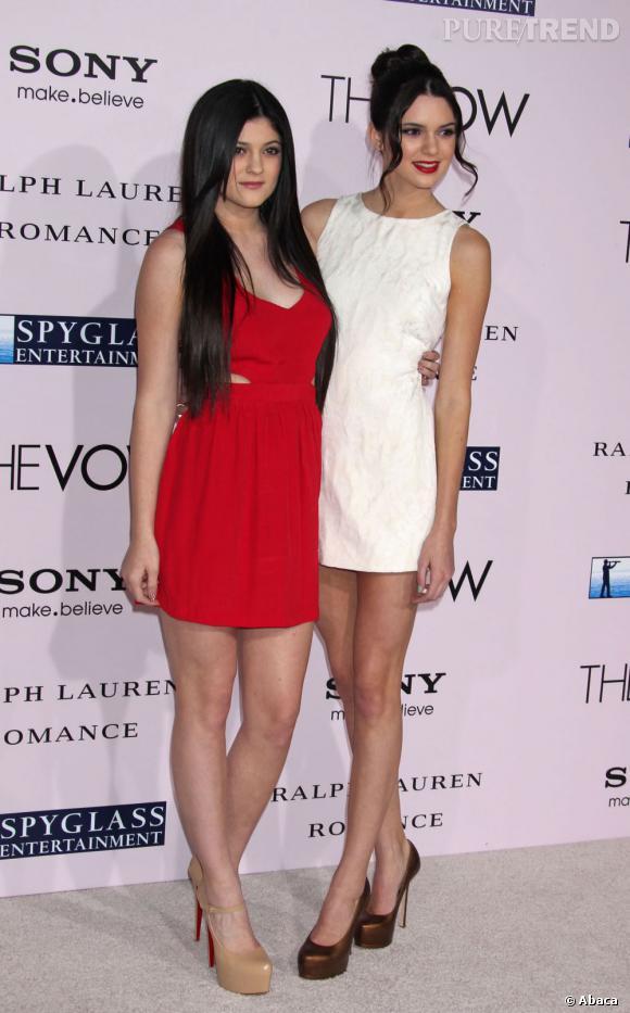 Kendall et Kylie font souvent bande à part face à leurs demi-soeurs.