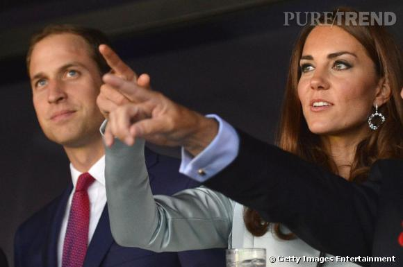 Kate Middleton et son Prince des supporters pas comme les autres.