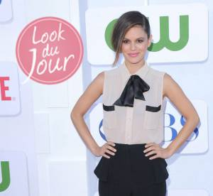 Rachel Bilson : masculin-féminin sexy à la CBS, Showtime and The CW Summer 2012 TCA Party