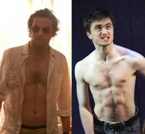 Bradley Cooper (Elephant Man) VS Daniel Radcliffe (Equus) : Le plus sexy torse nu ?