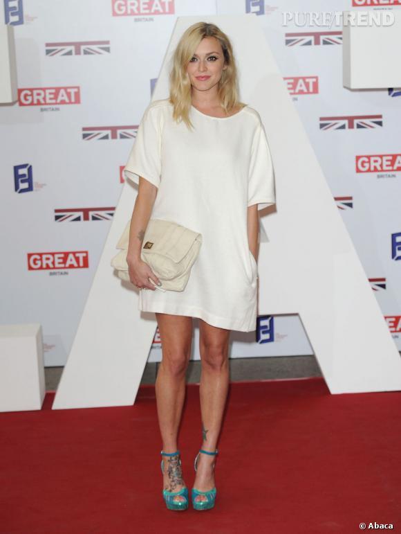 Fearne Cotton opte pour la version blanche trendy.