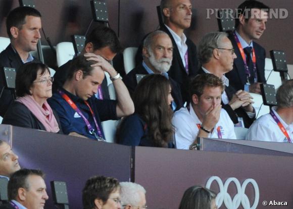 Le Prince Harry, pas très élégant...