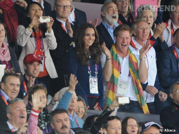 Le Prince Harry, un peu folle de temps à autres.