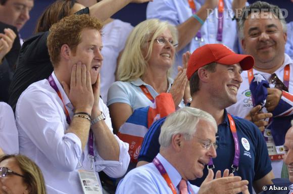 Le Prince Harry et sa grimace fétiche.