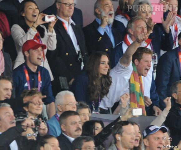 Le Prince Harry et ses effusions de joie.