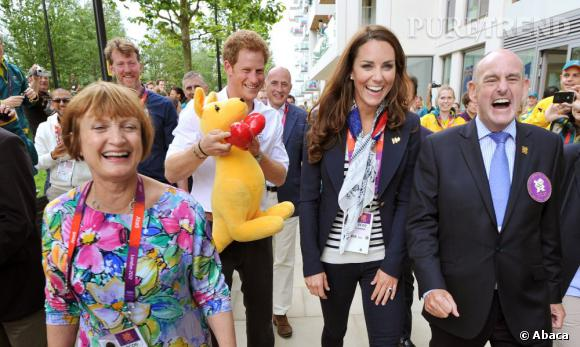 Le Prince Harry, toujours prêt à amuser la galerie.