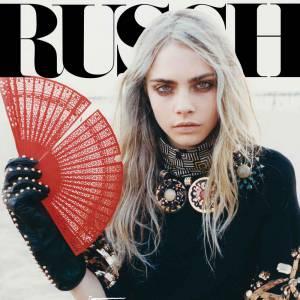 Russh s'offre la new face du moment, le mannequin Cara Delevingne. Une cover mystique et troublante.