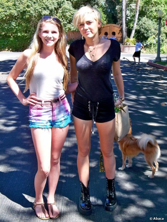 Miley Cyrus à Toluca Lake le 26 août dernier.
