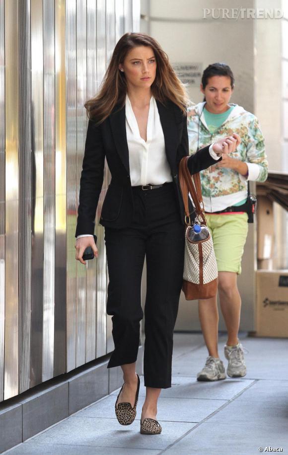 Hervorragend Amber Heard, femme d'affaires fashion A shopper ! EZ13