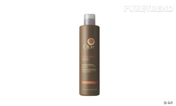 Un shampooing doux pour les cheveux fragilisés par le chlore :   Damage Reverse - Shampooing Restructurant à l'huile d'Ojon, 20 € (250 ml), chez Sephora et sur  www.sephora.fr