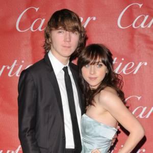 Paul Dano et sa petite amie Zoe Kazan.