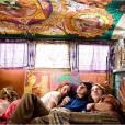 "Paul Dano dans la fameuse caravane de ""Hôtel Woodstock'."