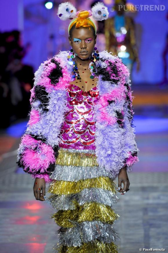 Collection Meadham Kirchhoff Automne-Hiver 2012-2013.