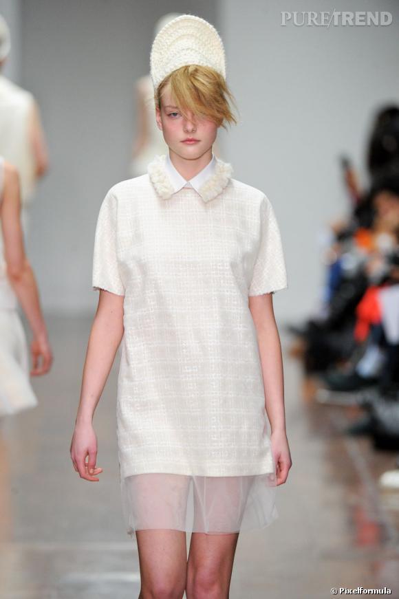 Collection Simone Rocha Automne-Hiver 2012-2013.