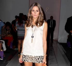Olivia Palermo, look sauvage en front row... a shopper !