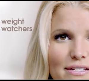 La publicité de Jessica Simpson pour Weight Watchers.