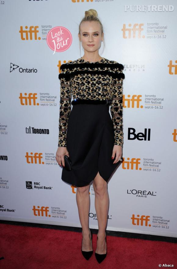 Diane Kruger au 37ème Festival International du Film de Toronto, le 11 septembre dernier.