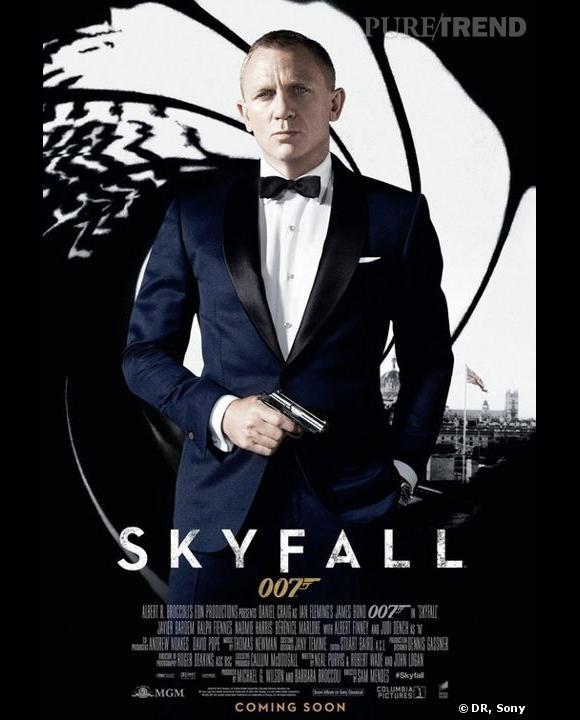 """L'affiche de """"Skyfall"""" enfin dévoilée !"""