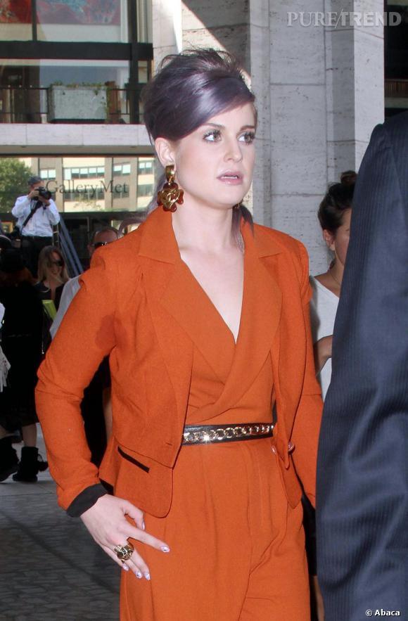 """Heureusement, la présentatrice du show """"Fashion Police"""" sait parfois rester classique dans ses tenues..."""