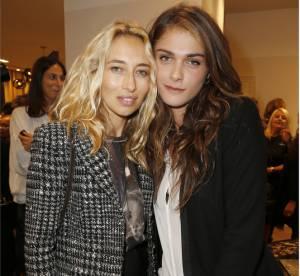 Elisa Sednaoui et Alexandra Golovanoff, sublimes invitées de la nouvelle boutique Gerard Darel